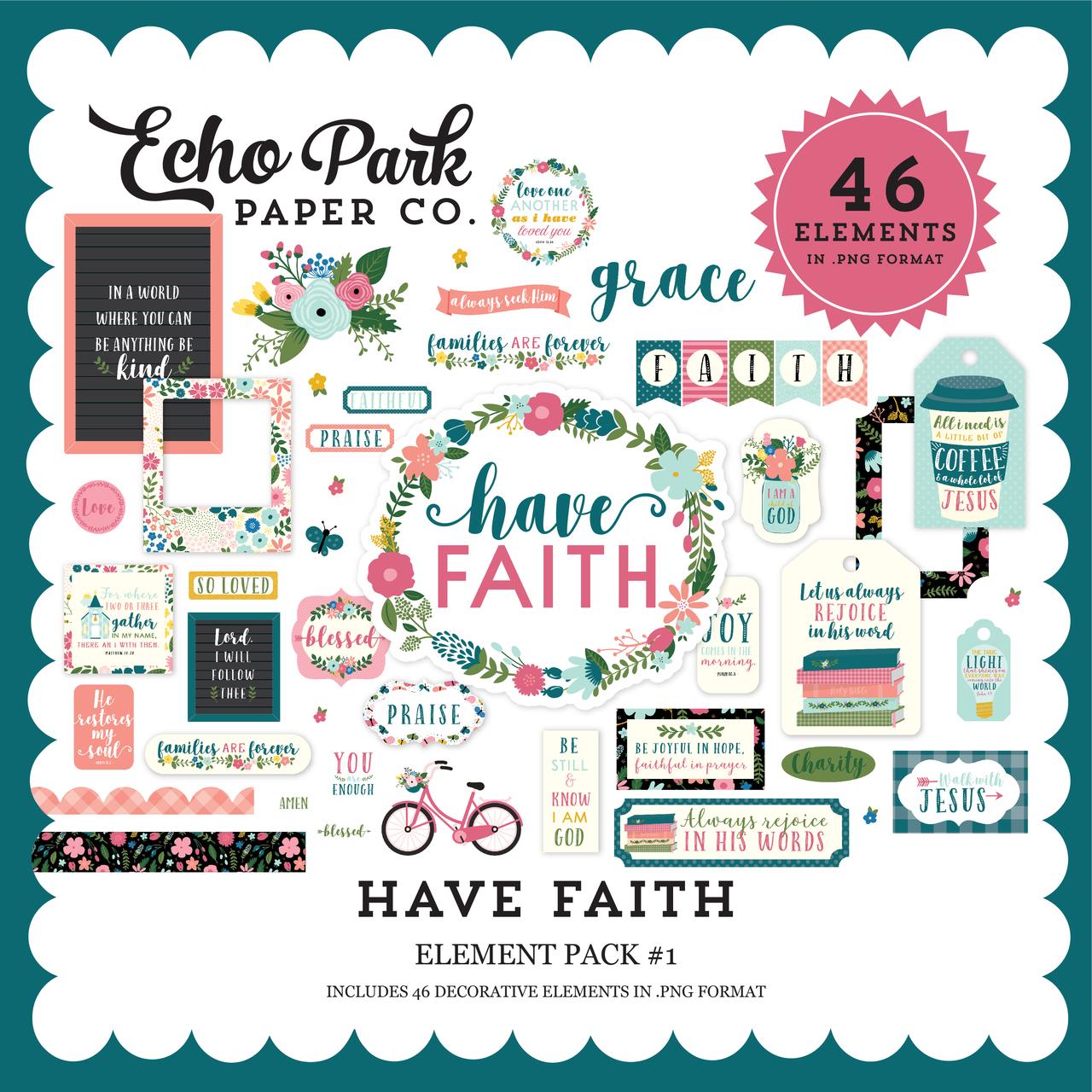 Have Faith Element Pack #1