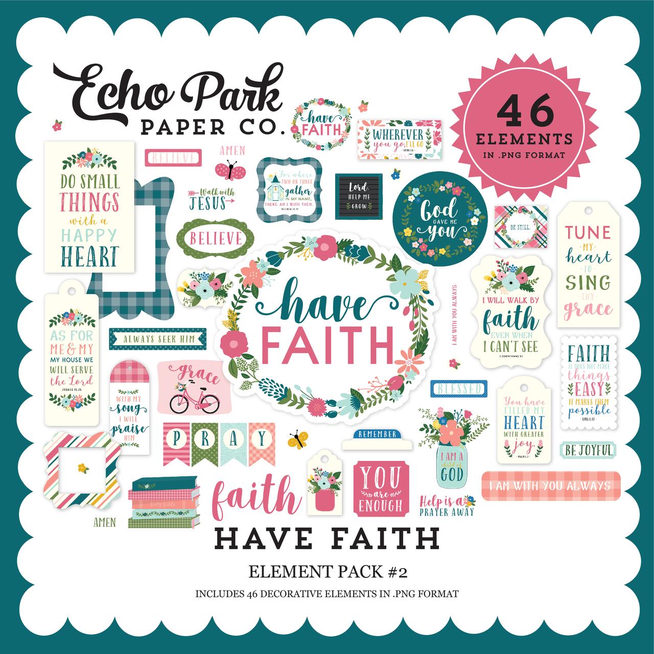 Have Faith Element Pack #2