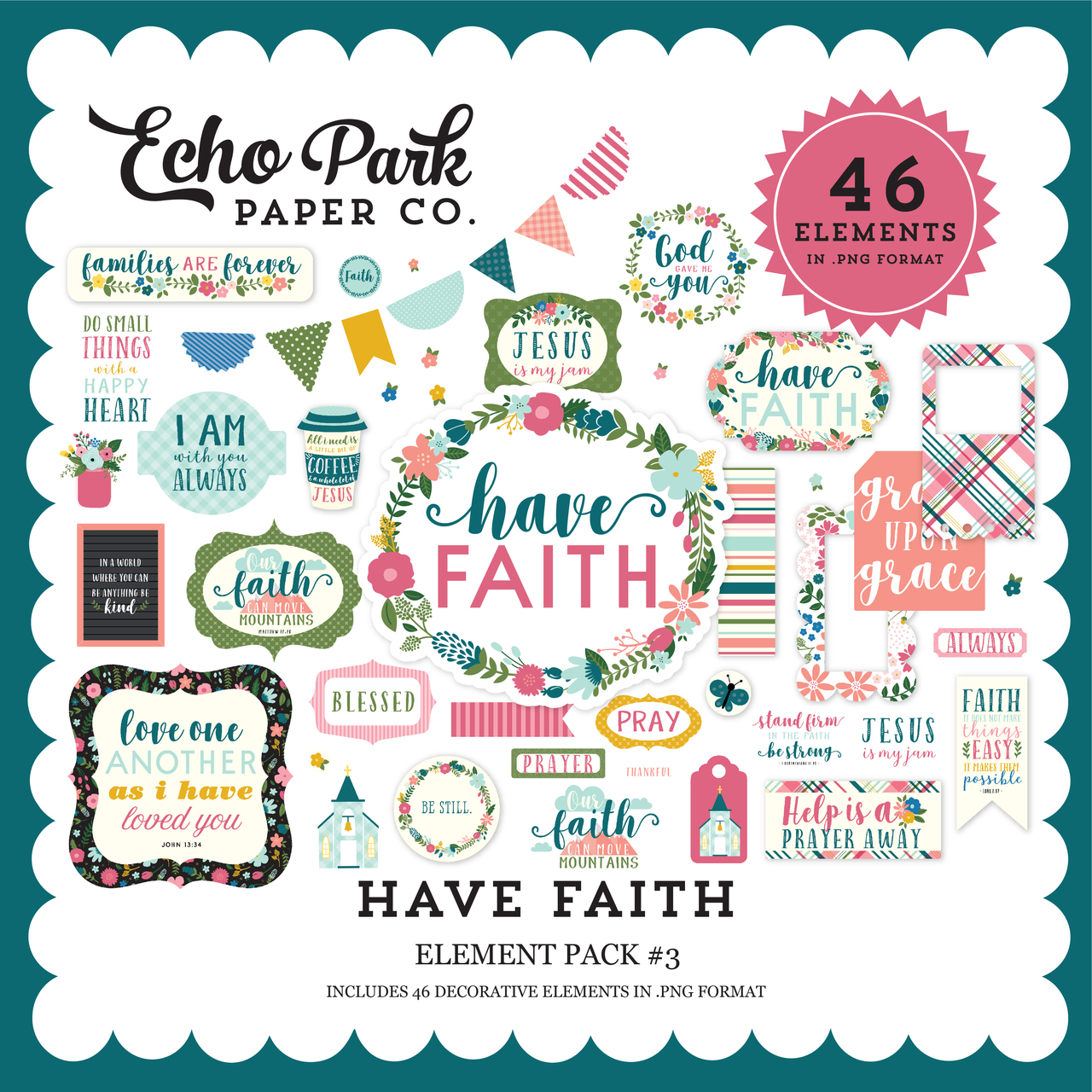 Have Faith Element Pack #3