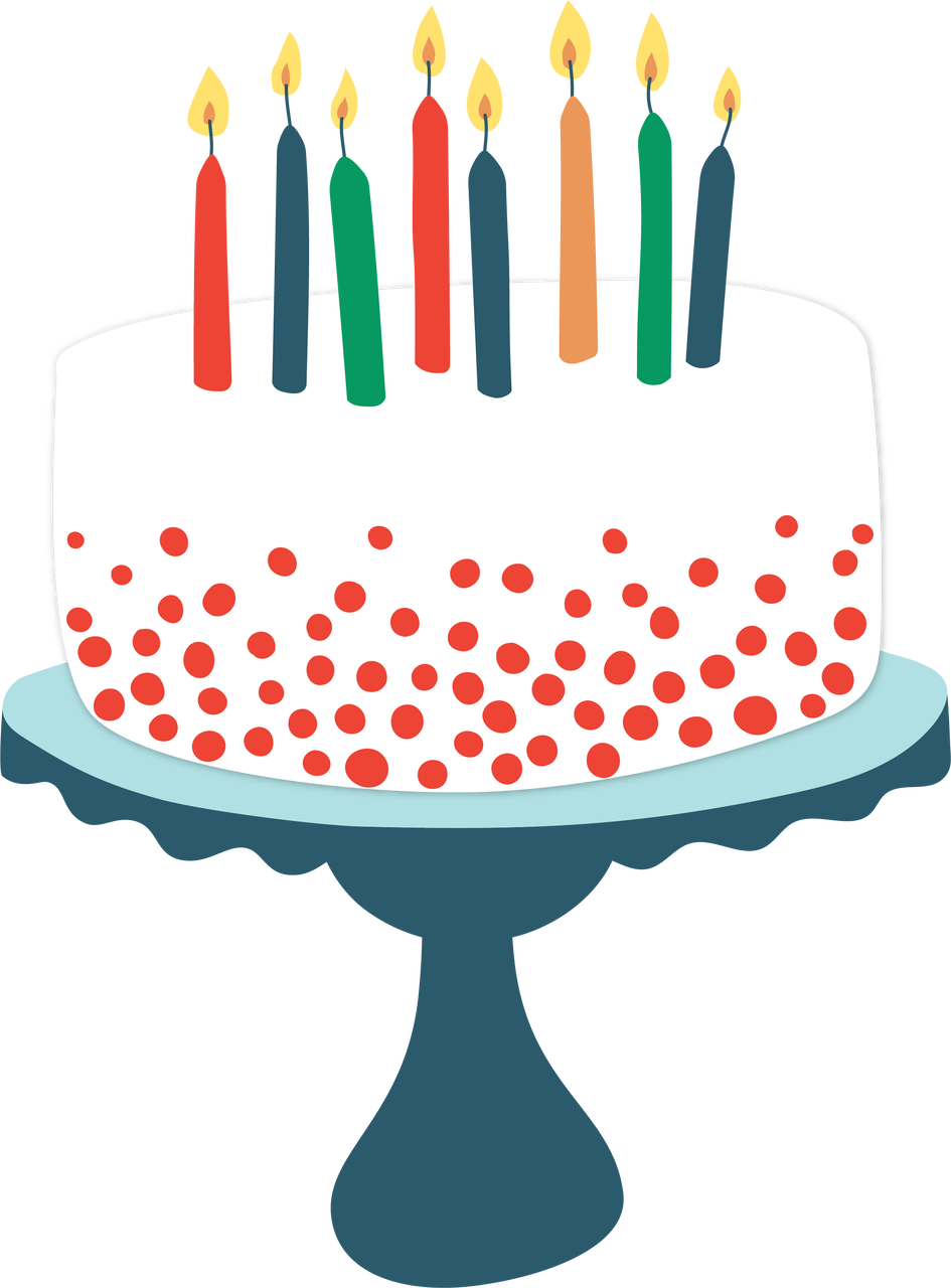 Birthday Cake Svg Cut File Snap Click Supply Co