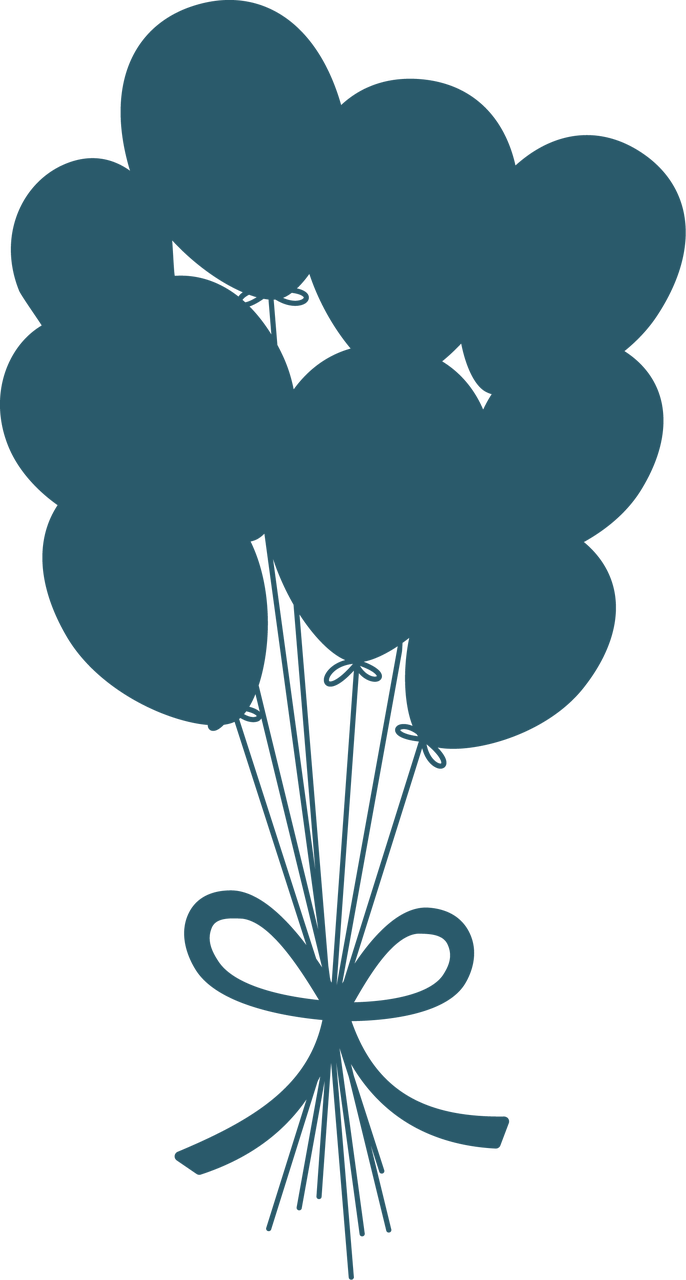 Balloons SVG Cut File