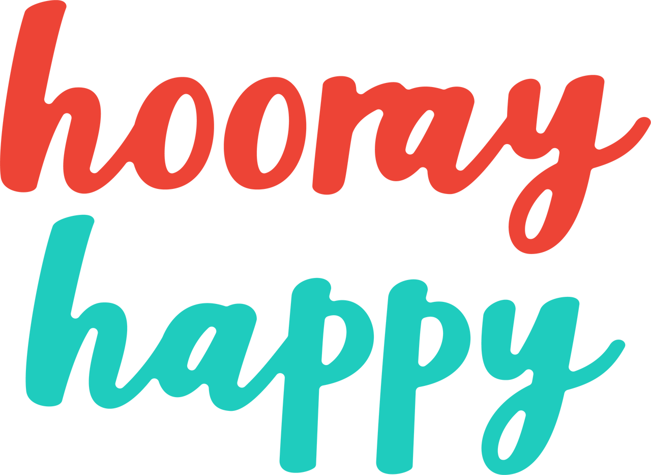 Hooray Happy SVG Cut File