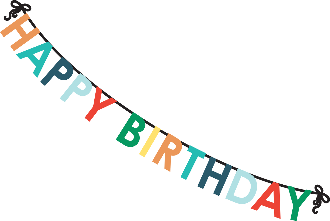Happy Birthday Banner #2 SVG Cut File