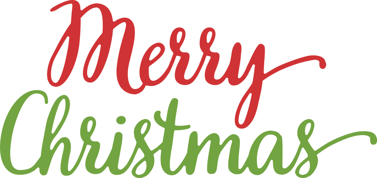 Merry Christmas SVG Cut File