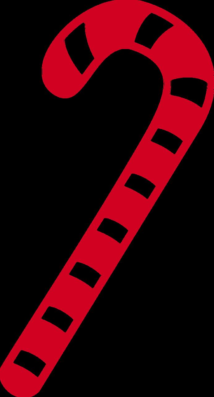 Candy Cane SVG Cut File