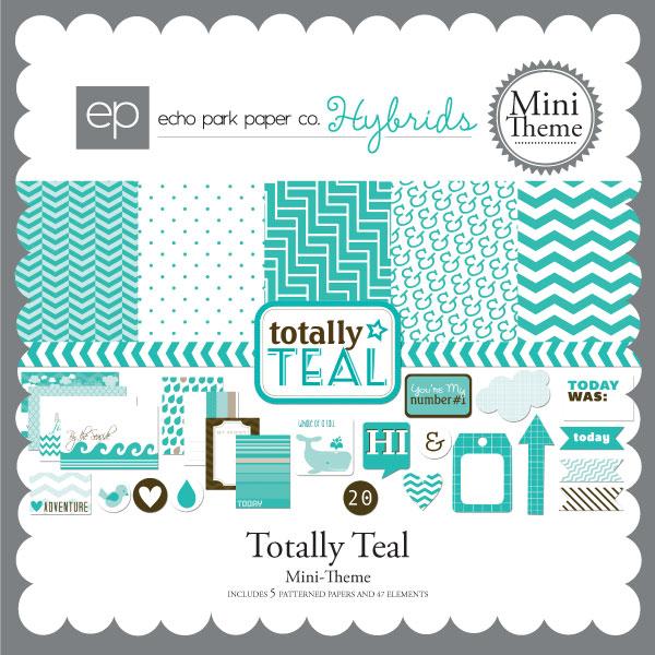 Totally Teal Mini-Theme