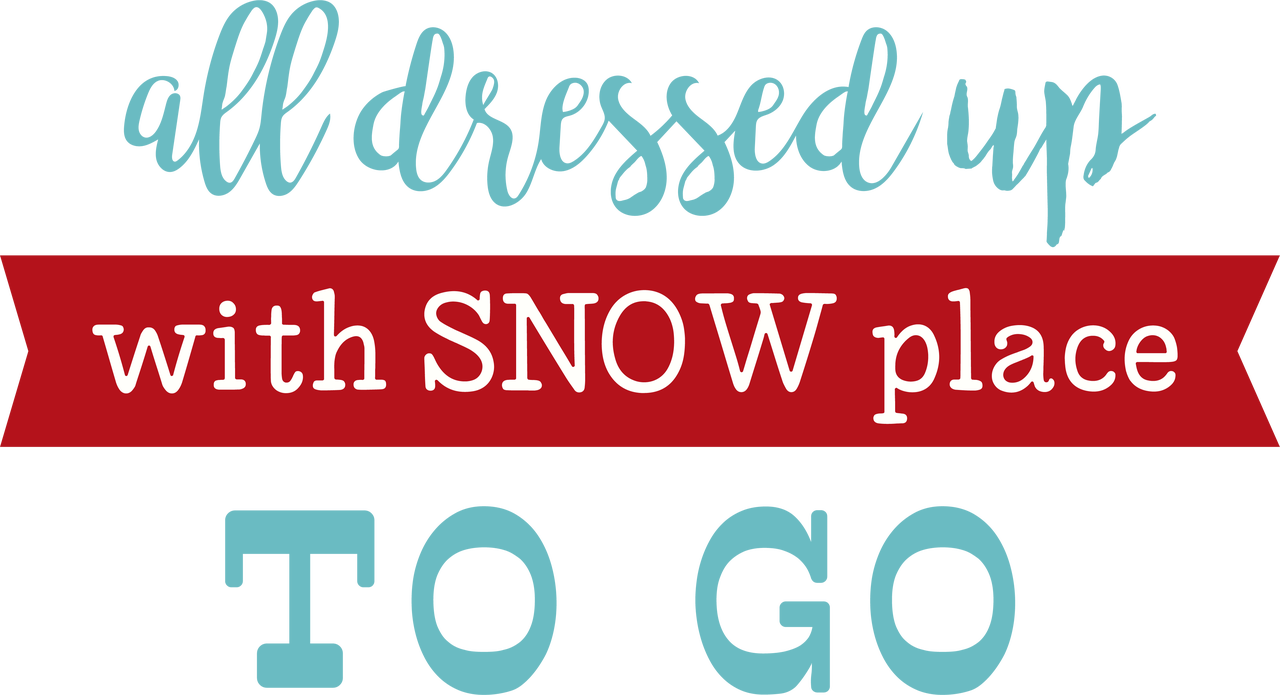 All Dressed Up SVG Cut File