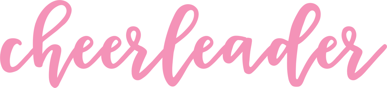 Cheerleader SVG Cut File