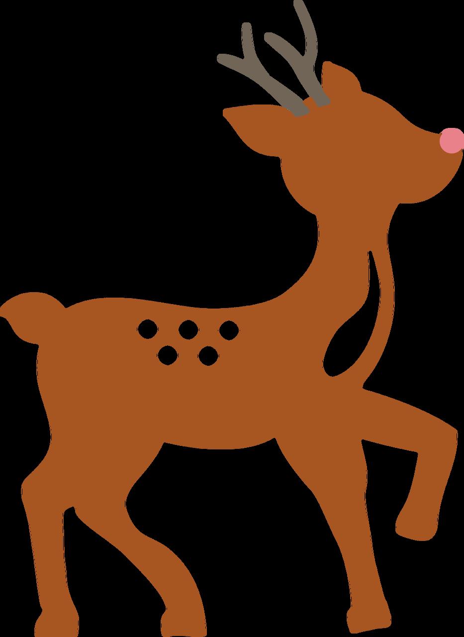 Deer SVG Cut File - Snap Click Supply Co.