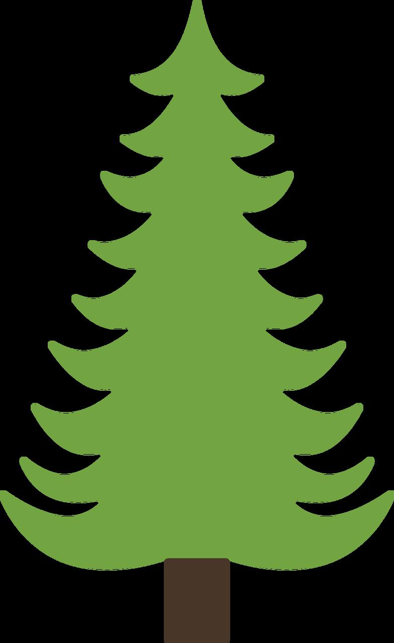 Pine Tree #3 SVG Cut File