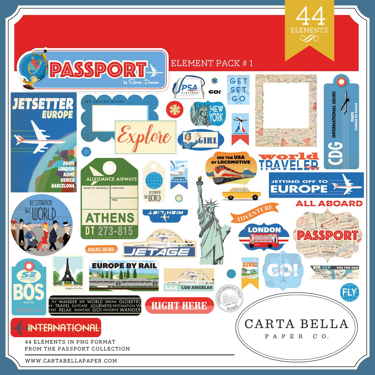 Passport Element Pack #1