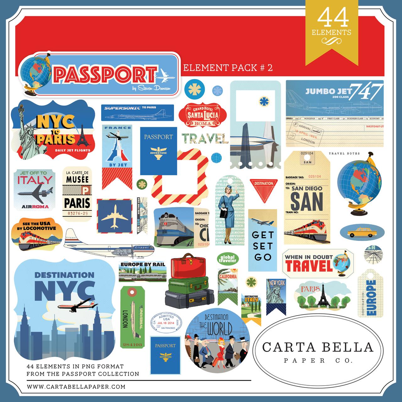 Passport Element Pack #2