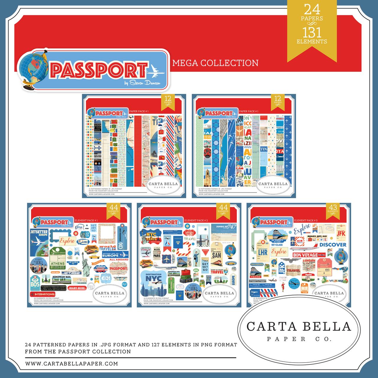 Passport Mega Collection