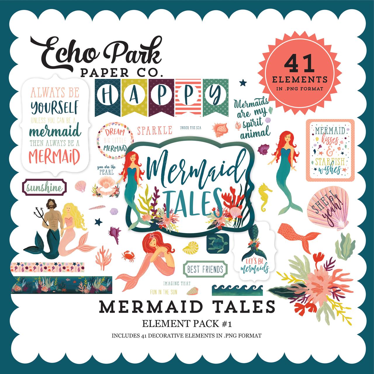 Mermaid Tales Element Pack #1