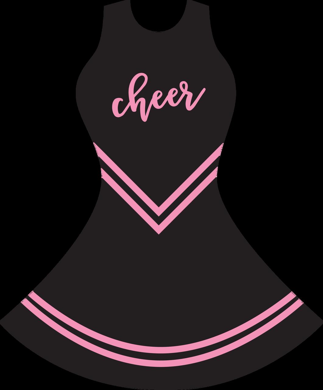 Cheer Uniform SVG Cut File