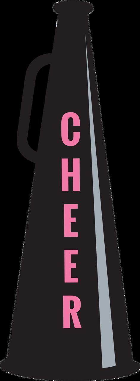 Cheer Cone SVG Cut File