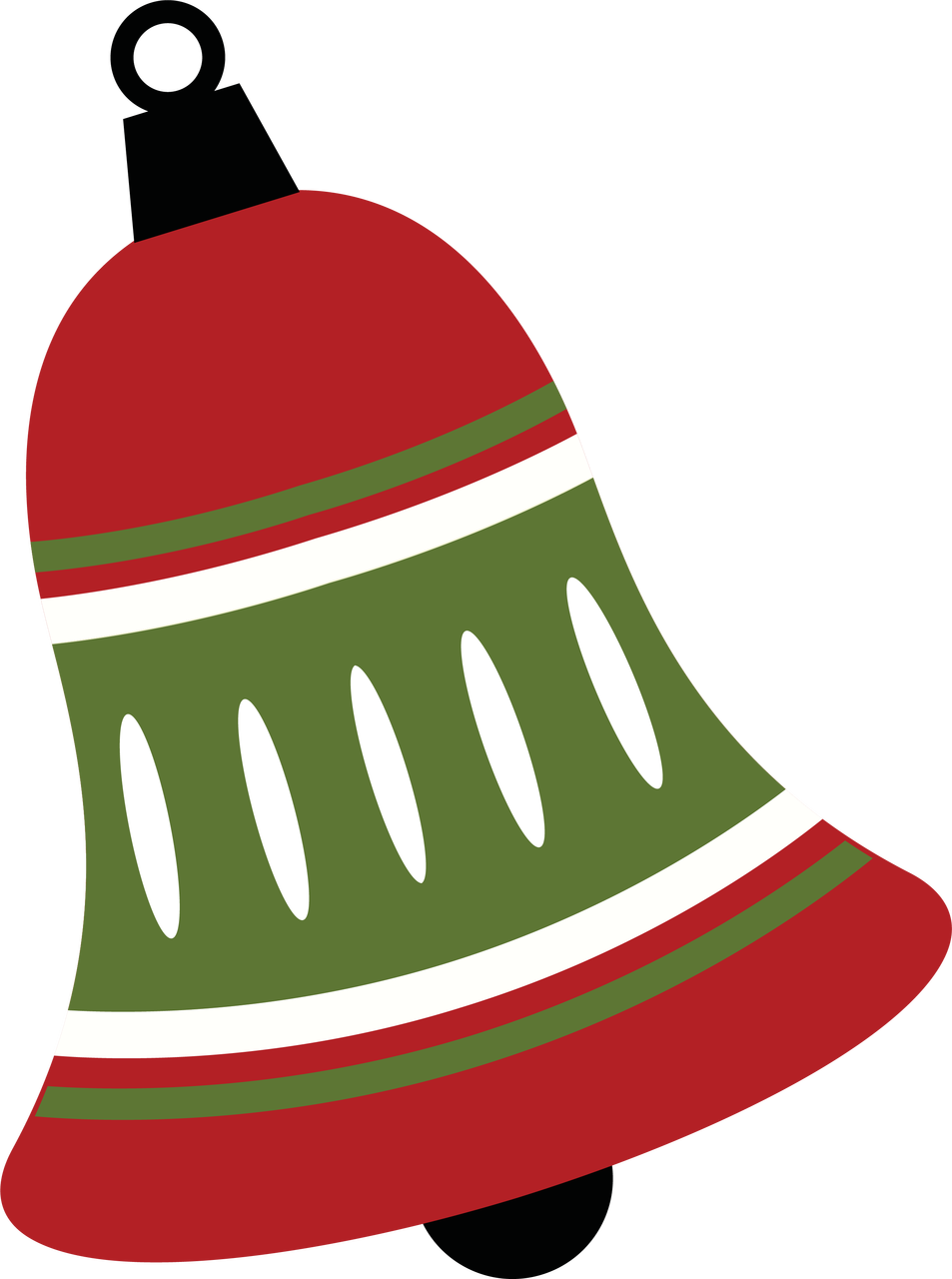 Christmas Bell.Christmas Bell Svg Cut File