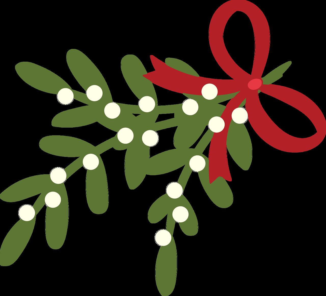 Mistletoe SVG Cut File