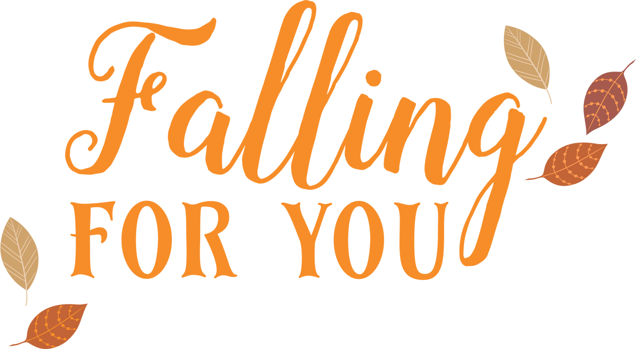 Falling For You SVG Cut File
