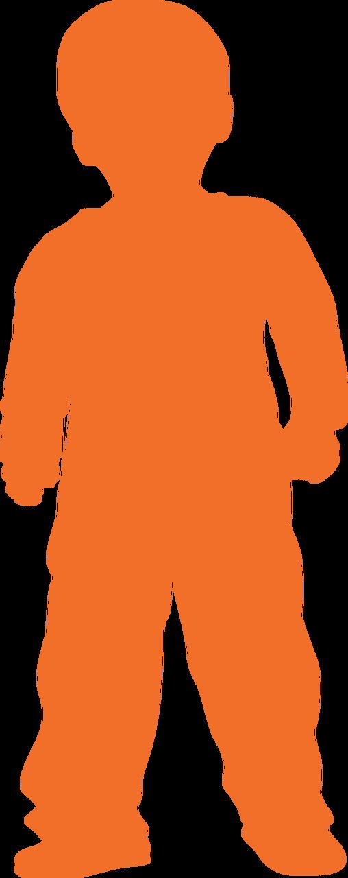 Boy Silhouette SVG Cut File