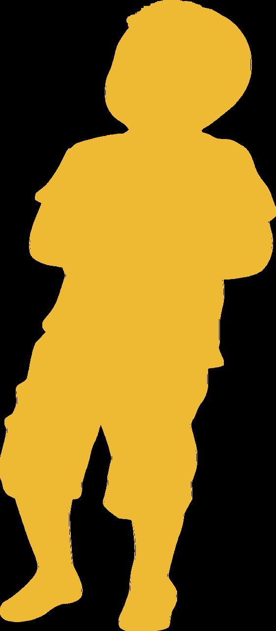 Boy Silhouette #2 SVG Cut File