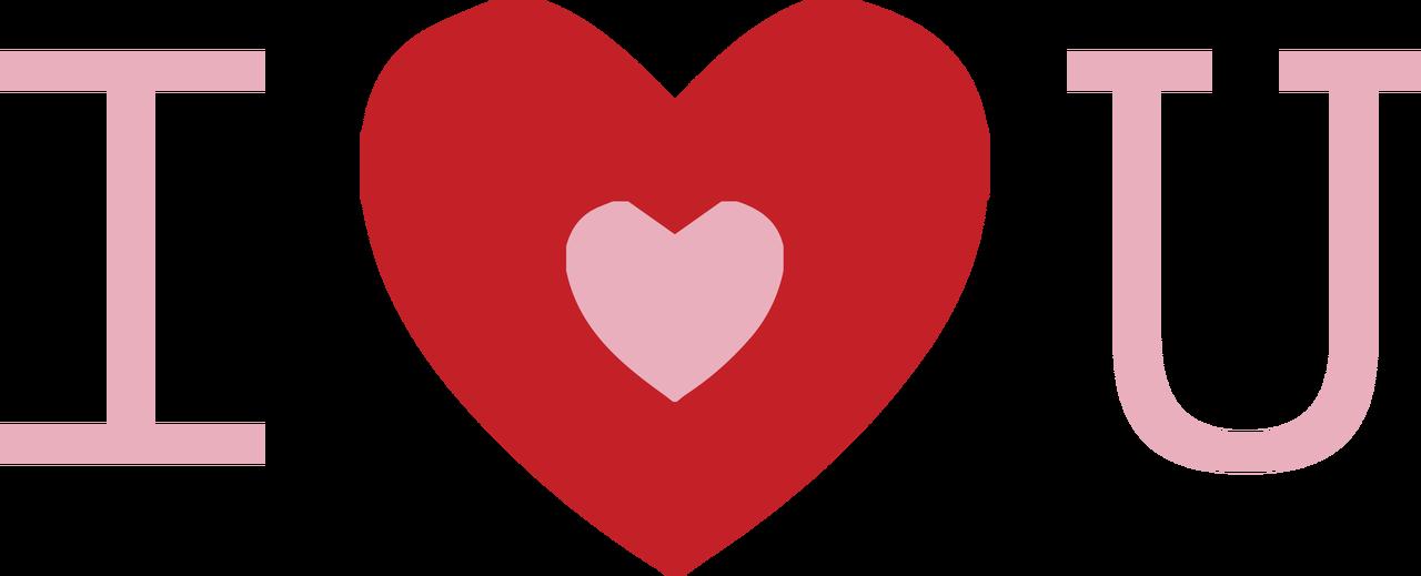 I Heart You SVG Cut File