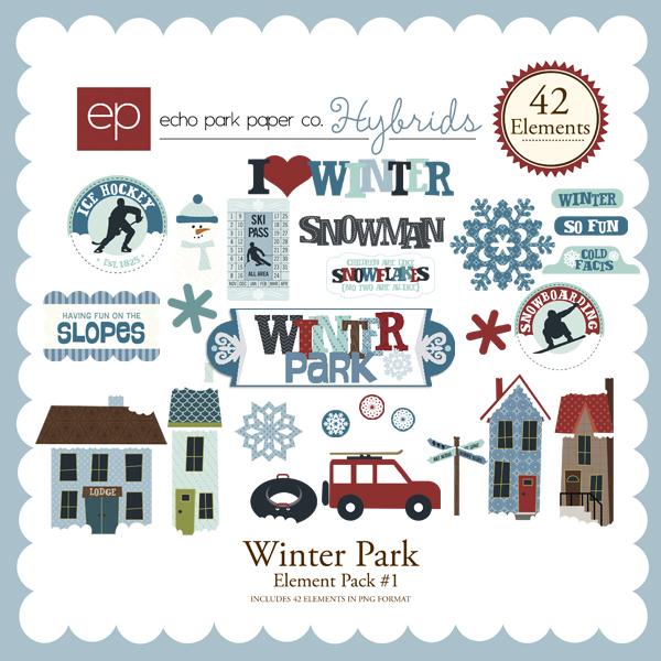 Winter Park Element Pack #1