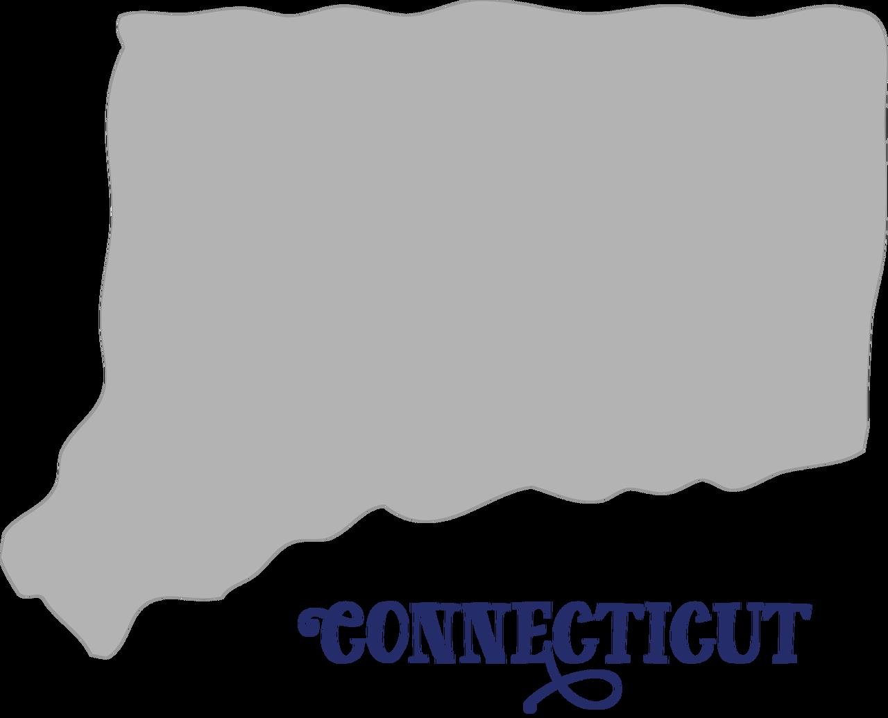 Connecticut SVG Cut File