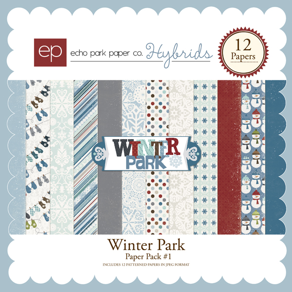 Winter Park Paper Pack #1
