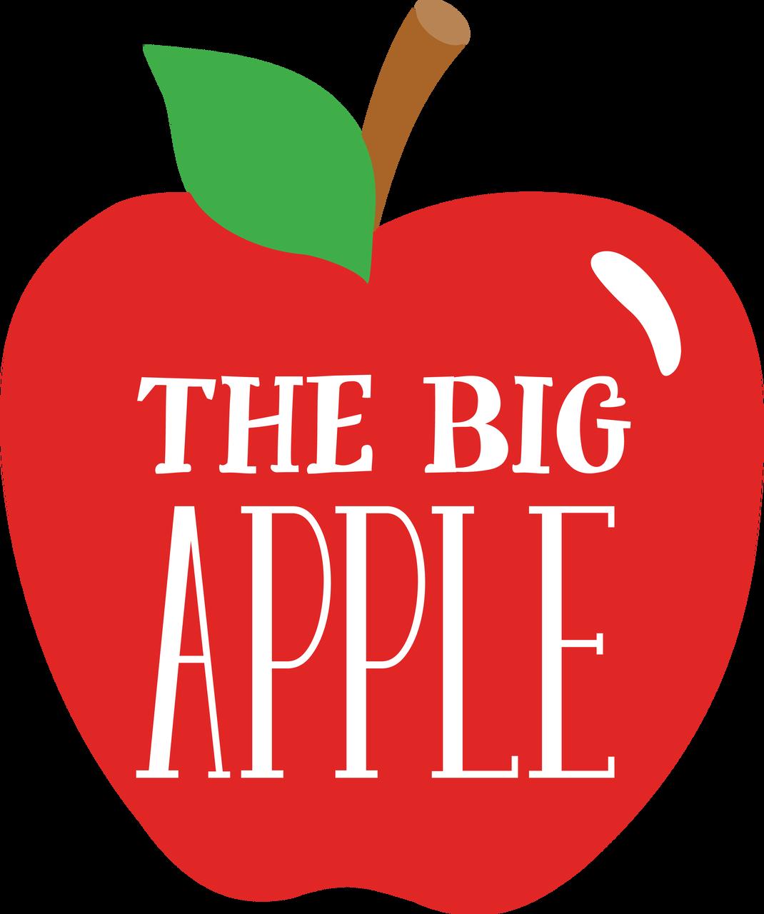 The Big Apple SVG Cut File