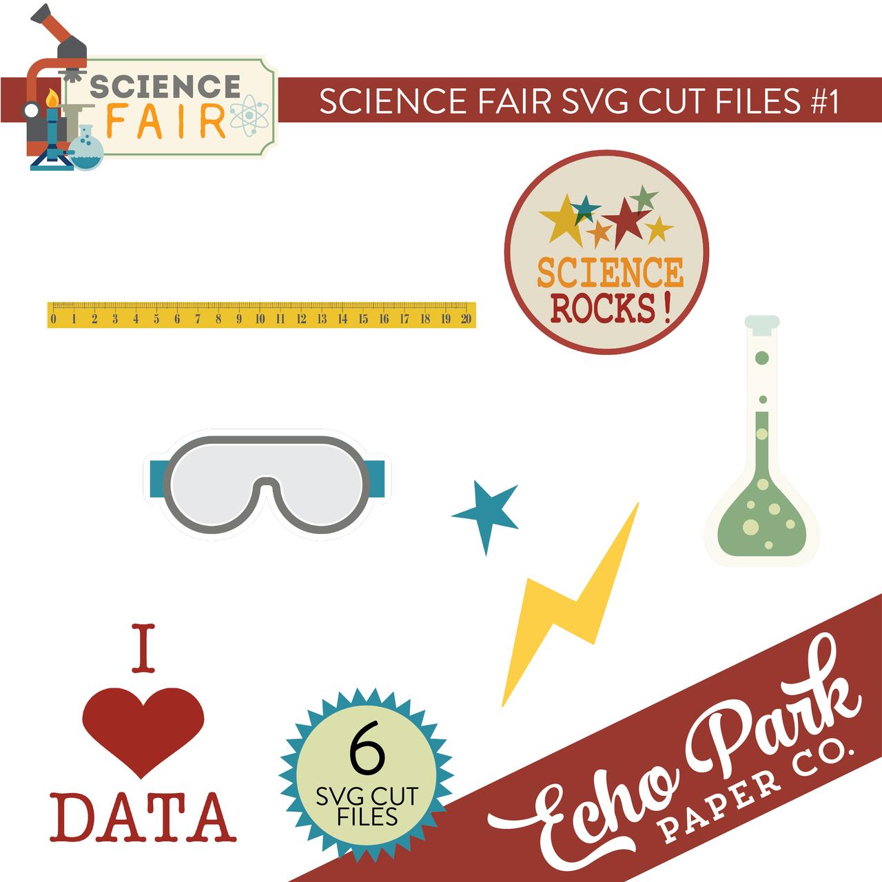 Science Fair SVG Cut Files #1