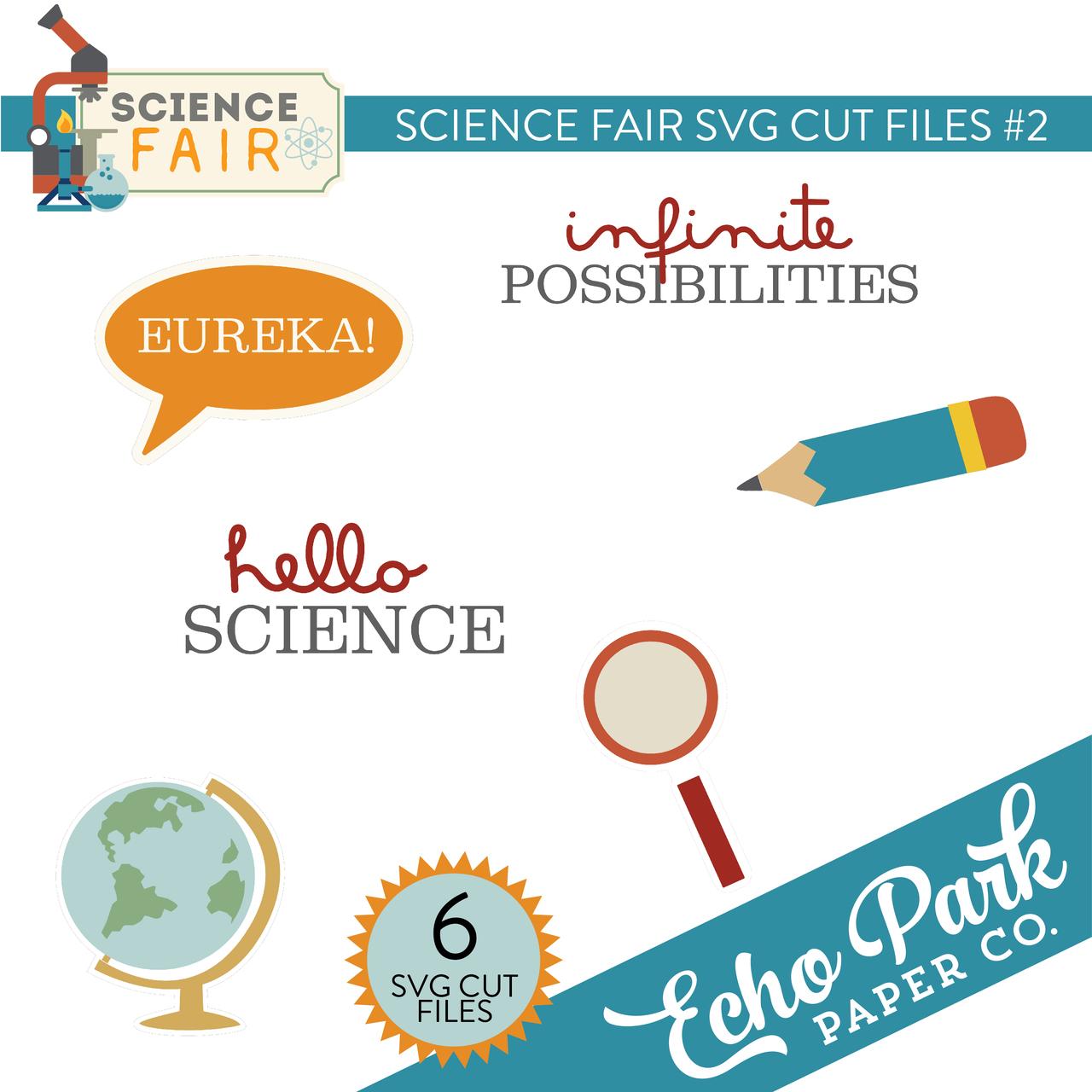 Science Fair SVG Cut Files #2