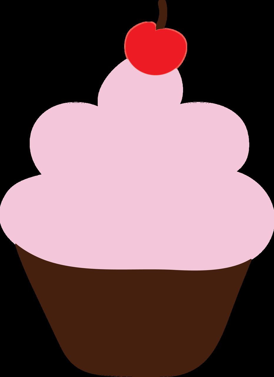 Cupcake #6 SVG Cut File