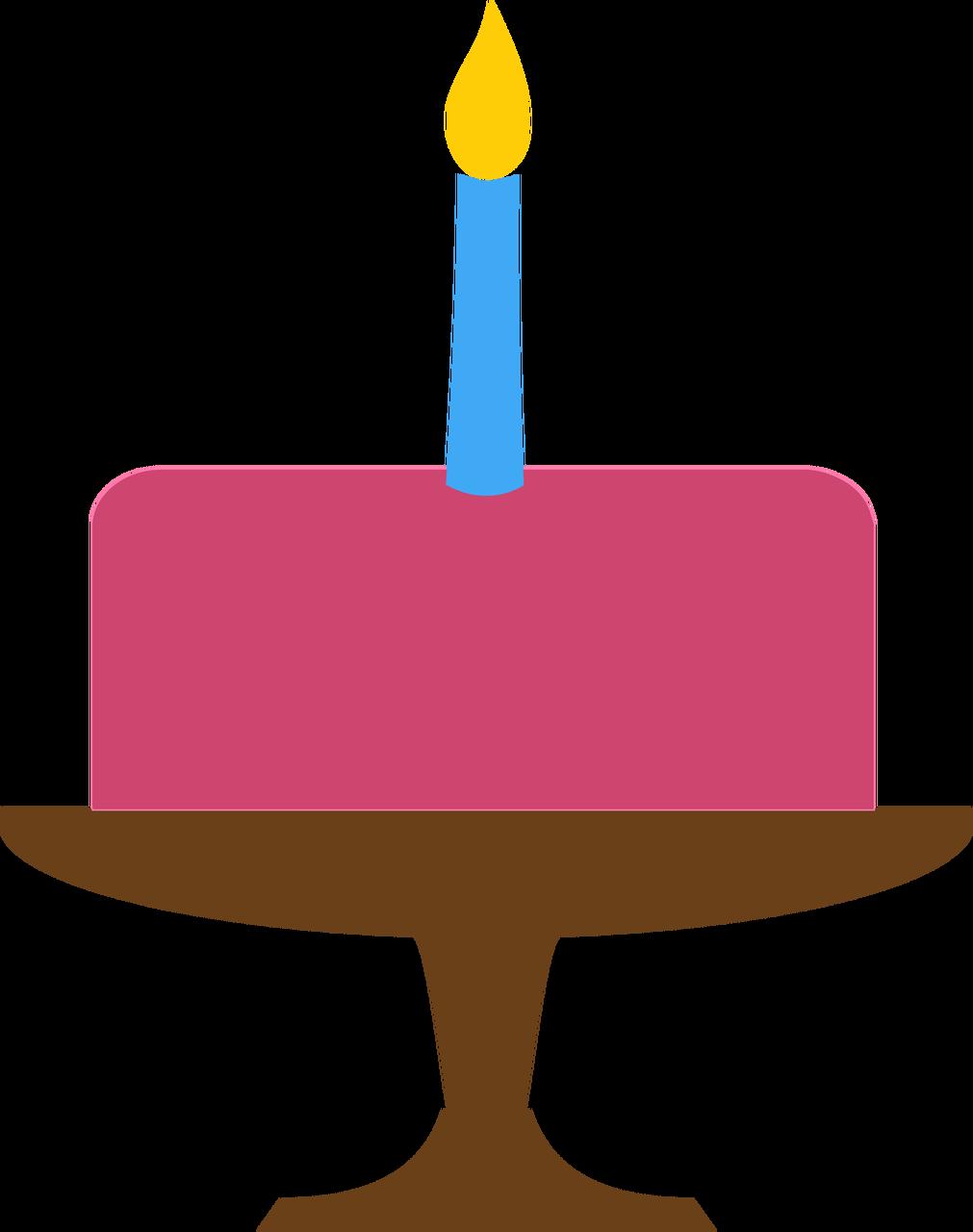 Birthday Cake #3 SVG Cut File