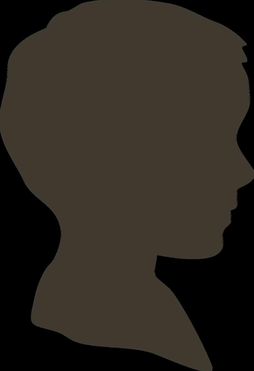 Boy Silhouette #3 SVG Cut File