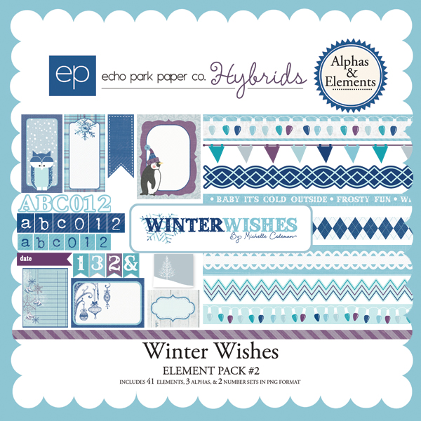 Winter Wishes Element Pack #2