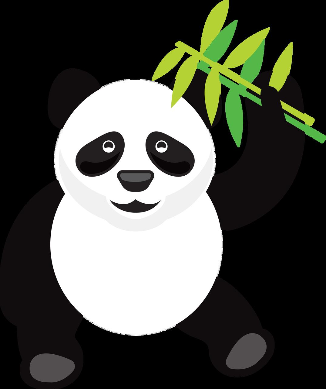 Panda Bear SVG Cut File