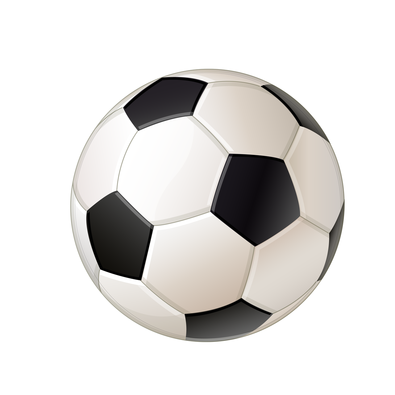 Soccer Ball #3 SVG Cut File