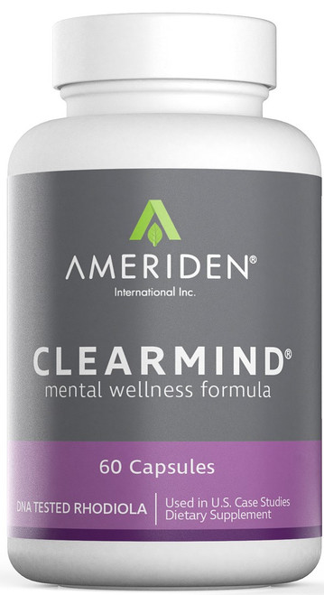Front of ClearMind packaging