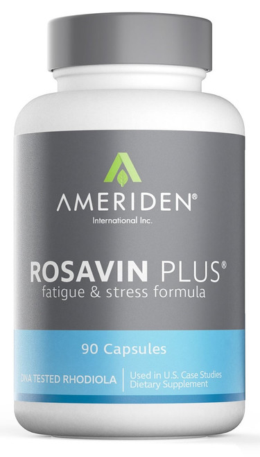 Rosavin Plus   (The Original Rhodiola rosea) packaging