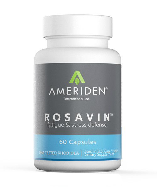 Rosavin ™  (The Original Rhodiola rosea) front packaging