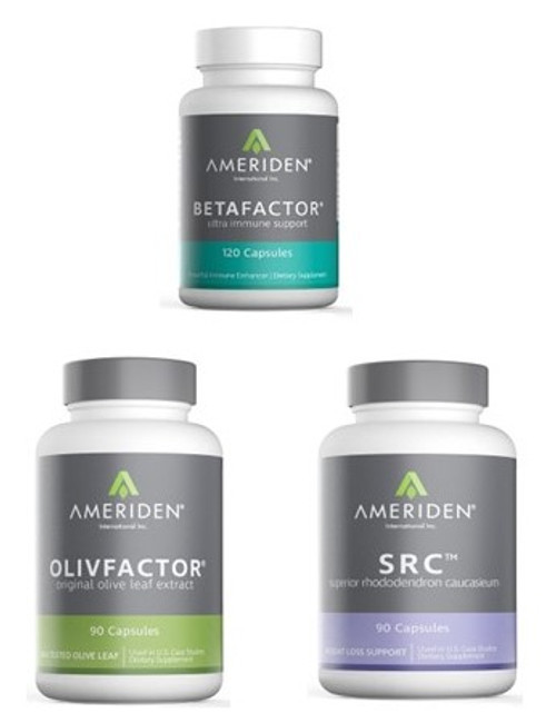 IMMUNI-TEAM PACKAGE F:   1 BOTTLE OF EACH BETAFACTOR, OLIVFACTOR & SRC RETAIL $160.85		25% $120.64                CLICK HERE