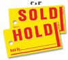 Jumbo Hold/Sold Tags