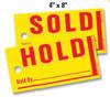 Jumbo Hold/Sold Tags