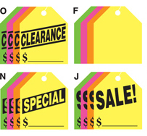 Large Rearview Hang Tags