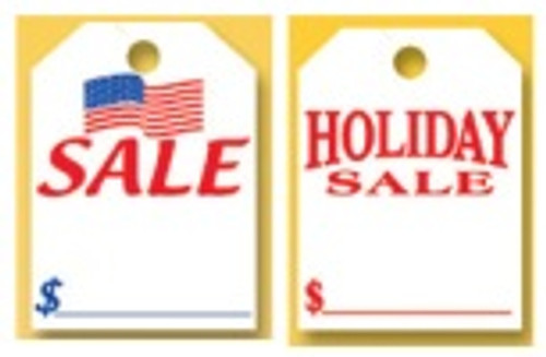 Large Rearview Hang Tags - Holiday
