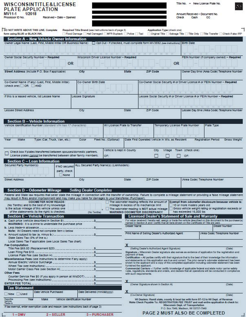 MV011 Application Form Rev 10/2019