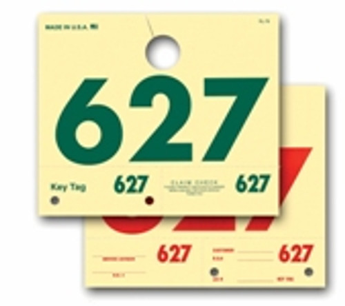 Service Number Hang Tags - 3 Digit RL-78