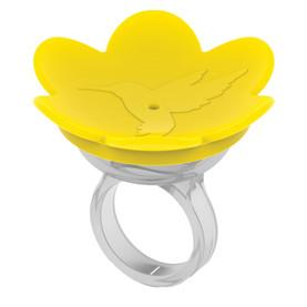 ZUMMR Hummingbird Ring - YELLOW