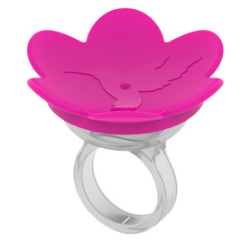 ZUMMR Hummingbird Ring - PINK